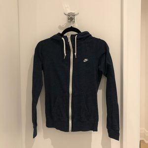 Nike hoodie zip-up. Size Small.